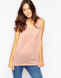 Minimum Sleeveless Vest Top 413Pastelpink