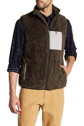 United By Blue Tacoma Fleece Vest Green