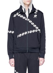 Damir Doma X Lotto 'Winka' Logo Trim Track Jacket Black