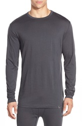 Helly Hansen Merino Wool Base Layer T Shirt Ebony