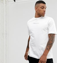 Good For Nothing Oversized T Shirt In White With Logo