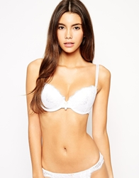 Pour Moi Pour Moi Amour Lace A F Cup Padded Bra White