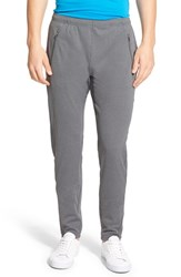 Men's Lacoste 'Sport' Ultra Dry Stretch Performance Track Pants Iron Grey