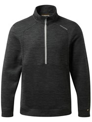 Craghoppers Men's Vector Lightweight Half Zip Fleece Nearly Black