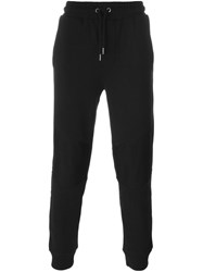 Diesel Tapered Track Pants Black