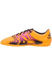 Adidas Performance X 15.4 In Indoor Football Boots Solar Gold Core Black Shock Pink