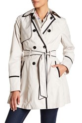 Betsey Johnson Fit And Flare Rain Coat Multi