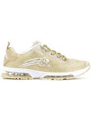 Plein Sport Running Sneakers Metallic