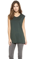 Blk Dnm Sleeveless T Shirt 28 Emerald Blue