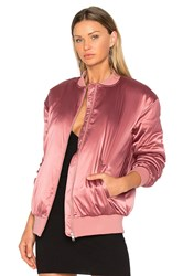 Lovers Friends X Revolve My Lover Bomber Rose