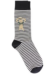 Societe Anonyme 'The Hug' Socks Blue