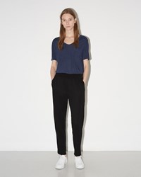 3.1 Phillip Lim Smocked Waistband Pant Black