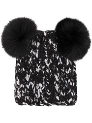 Eugenia Kim Knitted Fitted Hat Black