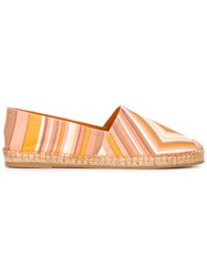 Valentino Garavani 'Native Couture' Chevron Espadrilles Multicolour