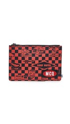 Mcq By Alexander Mcqueen Tablet Pouch Cadillac Red