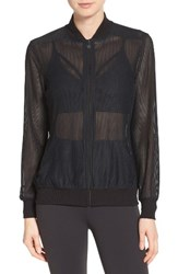 Beyond Yoga Women's Mesh Bomber Jacket
