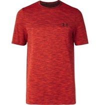 Under Armour Vanish Space Dyed Heatgear T Shirt Red