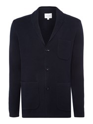 Peter Werth Men's Maxx Knitted Blazer Navy
