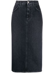 Closed Isa Denim Midi Skirt 60