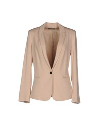 Soallure Suits And Jackets Blazers Women Light Pink