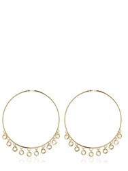 Maria Francesca Pepe Lolita Oversized Hoop Earrings