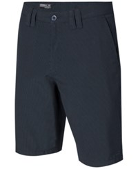 O'neill Men's Delta Pinstripe Shorts Dark Navy