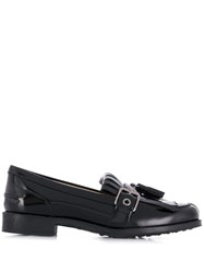 Tod's Tasseled Loafers Black