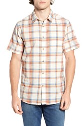 Billabong Men's Hyde Plaid Woven Shirt Grey