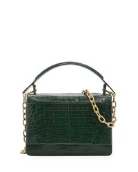 Nancy Gonzalez Medium Crocodile Top Handle Bag Multi