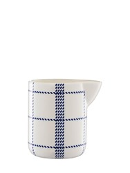 Normann Copenhagen Mormor Blue Milk Jug White Blue