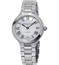 Frederique Constant Fc 306Mc3er6b Classics Delight Stainless Steel And Mother Of Pearl Watch