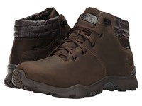 The North Face Thermoball Versa Chukka Weimaraner Brown Smoked Pearl Grey Men's Lace Up Boots