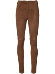 Ralph Lauren Collection Eleanora Trousers Brown