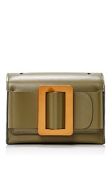 Boyy Fred Clutch Dark Green