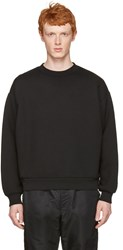 Alexander Wang T By Black Oversized Pullover
