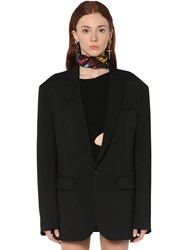 Dsquared Wool Cady Jacket Black