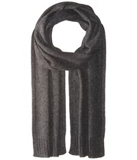Vince Cashmere Scarf Heather Carbon