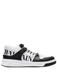 Balmain Low Top Logo Sneakers Black