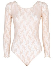 Pierre Mantoux Lace Bodysuit