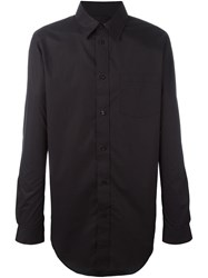 Alexander Wang Oversized Shirt Black