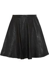Muubaa Pipri Leather Skirt