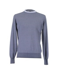 Alain Crewneck Sweaters Dark Blue