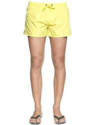 Diesel Short Neon Nylon Swim Shorts