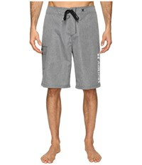 Hurley Heathered One Only 22 Boardshorts Cool Grey Men's Swimwear Gray
