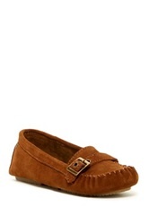 Bearpaw Brooke Buckle Driving Loafer Brown