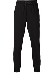 Vince Drawstring Track Pants Black