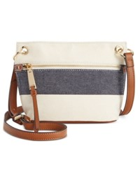 Tommy Hilfiger Camille Rugby Stripe Micro Mini Crossbody