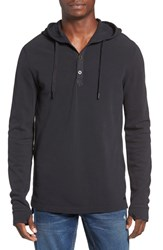 Men's Bench. Recluse Longline Hooded Henley
