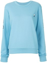 P.E Nation Moneyball Sweatshirt Blue