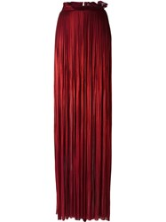 Maria Lucia Hohan 'Rose' Maxi Skirt Red